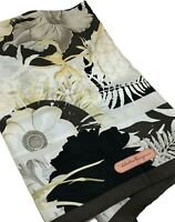 NEW, SALVATORE FERRAGAMO SILK FLORAL PATTERN SCARF, $625