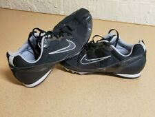 Nike Authentic Zoom Rival MD 5 Track Field Running Shoes Spikes Black White