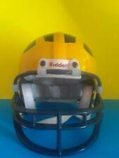 VINTAGE RIDDELL 3 5/8 Michigan College Football Helmet not Pocket sized