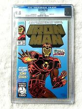 Iron Man #290 Marvel March 1993 CGC 9.8 mint/near mint WHITE pages Free Reader