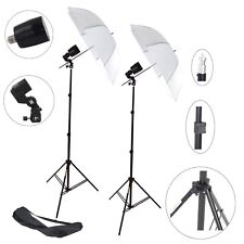 Kit 2x Illuminatore Flash DynaSun FLS80 Cavalletto, Stativo, Lampada, Ombrello
