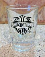 Harley-Davidson High Performance 2oz Shot Glass, Short Fluted Bevel