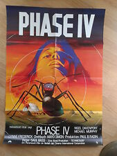 PHASE IV rare German 1 sheet 1974 SAUL BASS Horror / Science Fiction Classic
