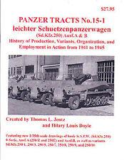 PANZER TRACTS 15-1 LEICHTER SCHUETZENPANZERWAGEN (SD.KF
