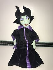 "Disney Store Villains - 21"" Maleficent Soft Plush Toy Doll Sleeping Beauty VGC"