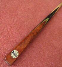RARE Vintage Padmore Snooker Billiard Cue And Metal Case, One Piece Cue, 1950s