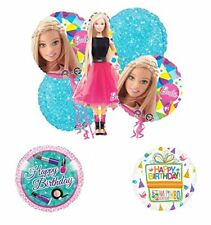 Barbie Doll Party Supplies and Birthday Balloon Bouquet