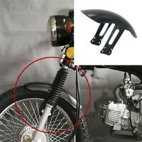 Universal Motorrad Hinterradabdeckung FenderSplash Guard Kotflügel + Halterung