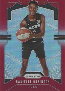 2020 WNBA PANINI DANIELLE ROBINSON RED PRIZM PARALLEL CARD * 275/275 * LV ACES