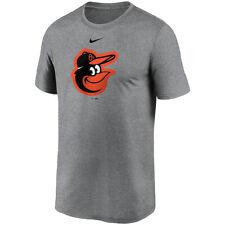 Brand New MLB 2020 Nike Baltimore Orioles Team Large Logo Legend Dri-FIT T-Shirt