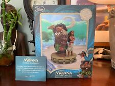 "MAUI & MOANA Limited Edition of 1700 Figurine 10"" Statue NEW Disney Store RARE"