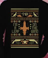 Teefury UGLY SWEATER XL SWEATSHIRT FIREFLY SHINNY CHRISTMAS - Last one