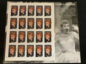 us stamps SC# 3523 Lucille Ball sheet of 20 MNH 34c 2001