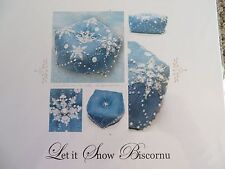 Faby Reilly Designs Counted X-stitch Chart - Let it Snow Biscornu