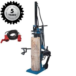 Scheppach Holzspalter HL1350 13t stehend Stammheber Meterholzspalter + 10m Kabel