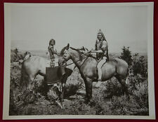 """John K. Hillers Photo, """"The Warrior and His Bride, Ute"""" 1872"""