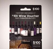 $100 Off Wine Gift Voucher From Nakedwines.com Coupon Card Free Shipping