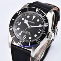 Corgeut Sapphire Glass 41mm Automatic Movement Waterproof 10 ATM Watch Parnis