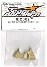RC Team Durango TD220002 DEX410 GEAR INSERT WEIGHT SET DESC410v2 Truck Buggy NIB