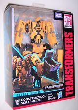 Transformers Studio Series CONSTRUCTICON SCRAPMETAL Deluxe Class #41 ROTF Sealed