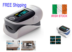 Finger Pulse Oximeter Heart Rate Spo2 Monitor Blood Oxygen Meter (NEW) FREE POST