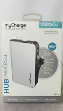 myCharge Portable 10050mAh 4-in-1 Universal Charger HUB HBLC10V-B