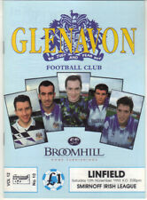 1993/94 Glenavon v Linfield - Irish League - 13th Nov - Vol 12 No 10