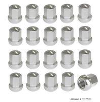 Fuchs Wheel Lug Nut Set, Silver, Porsche, 999.182.001.02