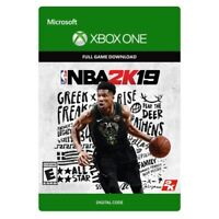 NBA 2K19 * PRO BASKETBALL * XBOX ONE GAME DOWNLOAD BRAND NEW * SAME DAY DELIVERY