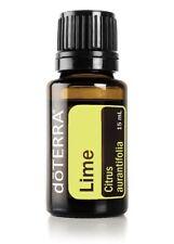 NEW doTERRA Lime 15ml Therapeutic Grade Pure Essential Oil Aromatherapy FreePost