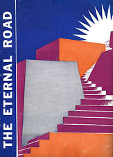 "Max Reinhardt ""ETERNAL ROAD"" Kurt Weill / Lotte Lenya / Sam Jaffe 1937 Program"