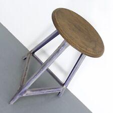 #2 Alter Werkstatthocker Hocker Antik 30er 40er Vintage Bauhaus Industrie Design