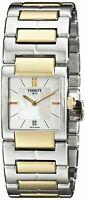 Tissot Ladies T2 Swiss Quartz Two Tone Watch - TIST0903102211100 NEW