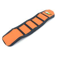 New Dirt Bike Orange Ribbed Gripper Soft Seat Cover Skin For KTM 65 SX 2009-2014