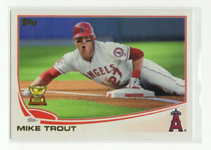2017 Topps Mike Trout All-Rookie Cup Reprint #ARC-5 Insert Los Angeles Angels