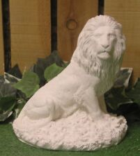 African Male Lion Sentry Latex Fiberglass Production Mold Concrete Plaster