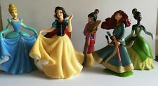 Set of 5 Walt Disney Princess figures cake toppers birthday party toy