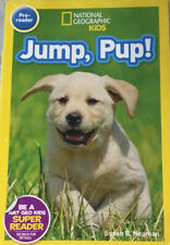National Geographic Kids Jump, Pup! With CD Narration With Page Turn 4 Pc..E1B