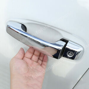 For Toyota Land Cruiser LC200 2016-2020 Car Door Body Side Handle Cover Trim Cap