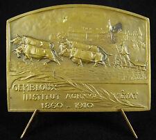 Médaille Gembloux / Orneau Djiblou Gembloers Belgique faculté agronomique  Medal