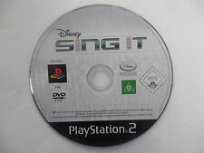 DISNEY SING IT - PlayStation 2 / PS2 - DISC ONLY