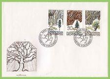 First Day of Issue Liechtenstein Stamps