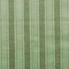 *Lee Jofa Cotton Linen Velvet Academia Stripe Green Heavy Duty Upholstery 5to25y