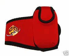 RED Armband pouch Mobiles / Nano / MP3s - size Large