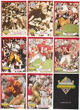 Lot of 100 1994 Ted Williams Company Path To Greatness RED 9 Card Sets