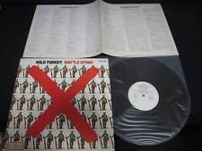 Wild Turkey Battle Hymn Japan Promo White Label Vinyl LP Jethro Tull