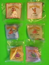 1988 McDonalds - Fraggle Rock II set of 4 + both U3s *MIP*