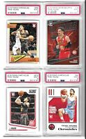 2018-19 Trae Young PSA 9 Chronicles Rookie Lot + 2019 Optic My House 4 Cards!