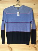 Men's LG DANIEL CREMIEUX Signature Collection Crew Neck Wool & Linen Sweater