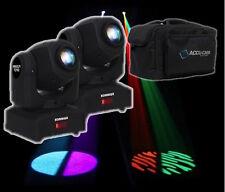 2 x Equinox Fusion Spot MKII LED Moving Head DMX Lighting Effect DJ Disco Pocket